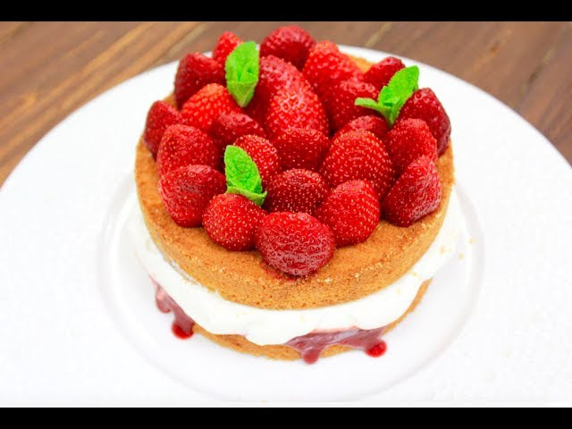 Бисквитный Торт Виктория / Classic Victoria Sponge Cake
