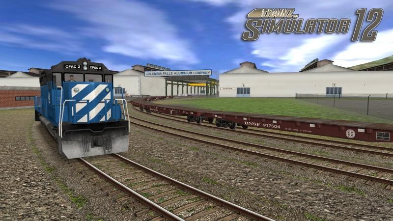 Диспетчер    Trainz Simulator 12    Marias Pass Route X - CFAC Yardmaster (Expert)