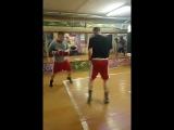 Тренировка, работа в парах. #спаринг #тренировка #Бокс #Дубна #К1 #k1 #muaythai #муайтай #фитбокс#