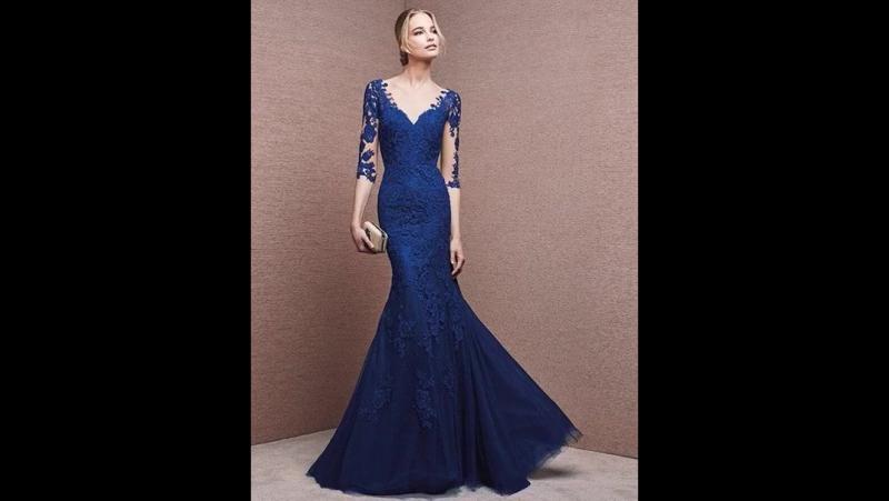 Коллекция синих вечерних платьев La Sposa