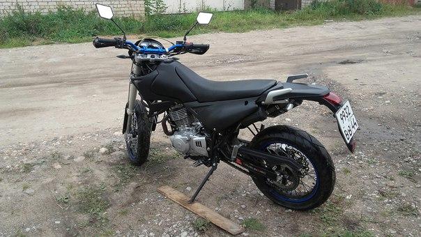 Продам мотоцикл BM motard 250. Год выпуска 2013,установлена свежая рез