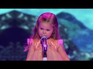 Маленькая девочка поет/ Поет в 3 Года / Little Big Shots - 3-Year-Old Little Mermaid Singer Is Everything