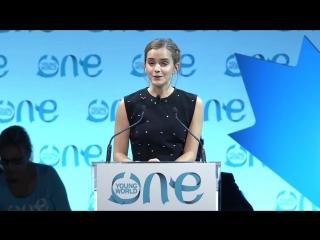 Emma Watson on opening Pandoras Box _ One Young World 2016