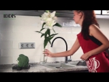 Смеситель для кухни с гибким шлангом-изливом IDDIS Kitchen 360