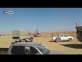 Армия Сирии уничтожает боевиков в районе Пальмиры