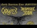 Carnifex, Despised Icon, Fallujah, Rings of Saturn, Lorna Shore, She Must Burn - Tour 2017