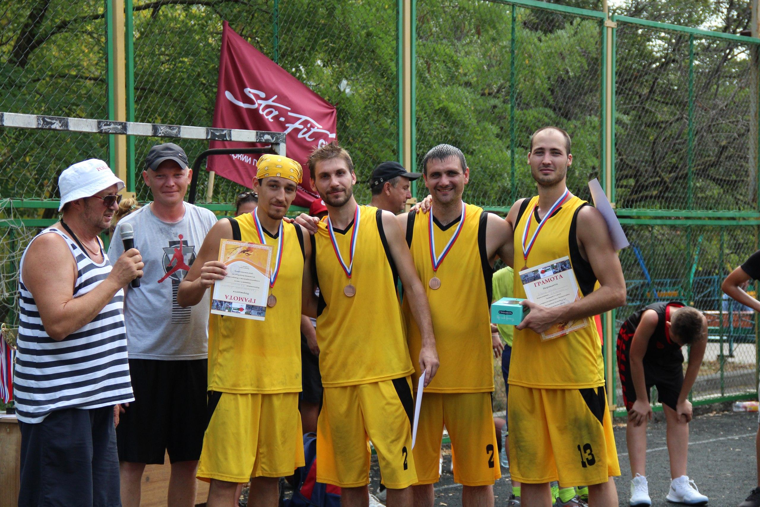 Чемпионат Новороссийска по баскетболу 3х3