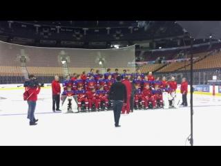 Таймлапс командной съемки участников МЧМ-2017