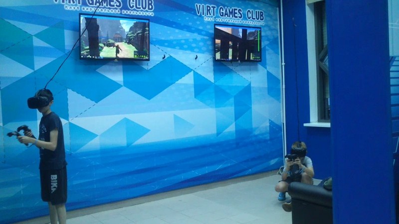 Elven Assassin кооператив в клубе VIRT GAMES CLUB