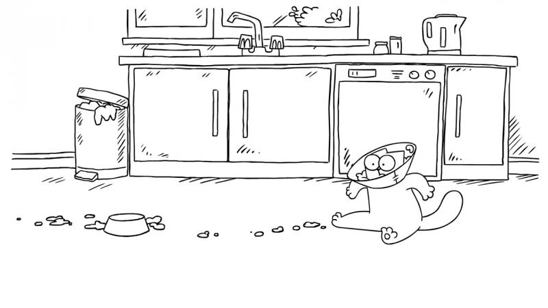 Кот Саймона / Simon's Cat - 48 серия (Pug Life / Жизнь с мопсом)