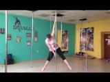 Power Traning. Pole dance by Roman Masalov