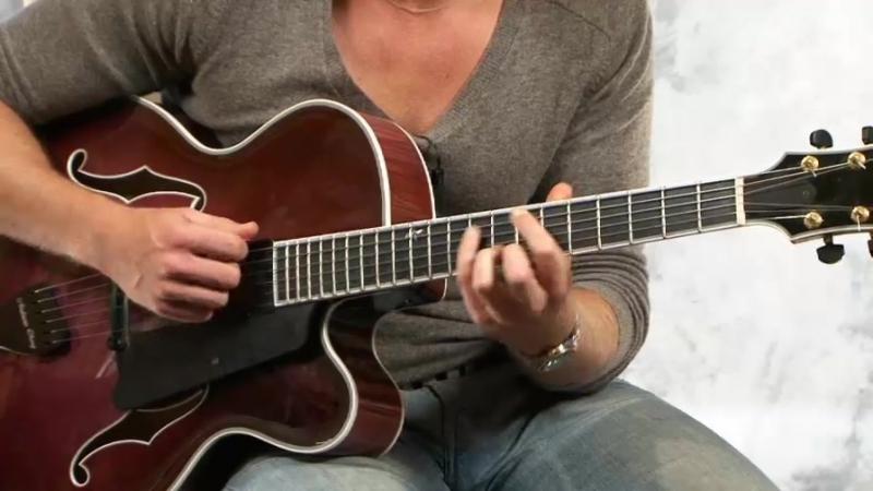 Andreas Oberg - lesson Superimposing Triads