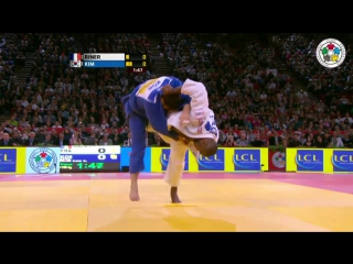 Judo Grand Slam Paris 2013- Final 100kg RINER, Teddy (FRA) - KIM, Sung-Min (KOR).mp4 » Freewka.com - Смотреть онлайн в хорощем качестве