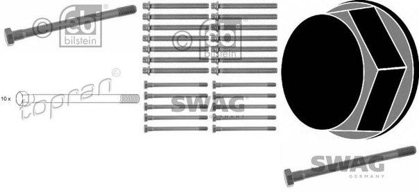 Комплект болтов головки цилидра для BMW 02 кабрио (E10)