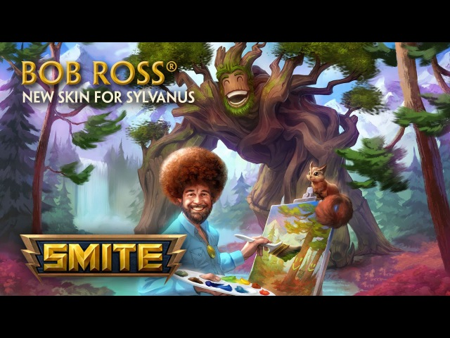 SMITE - New Skin for Sylvanus - Bob Ross