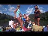 Сплав на плоту река Мана ЧАСТЬ 2 Mana River Rafting Part 2