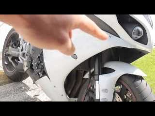Yamaha r1 RG frame sliders install