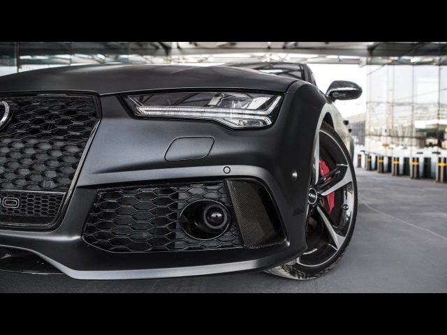 2017 605hp Audi RS7 Performance The details of the beast Daytona matte gray