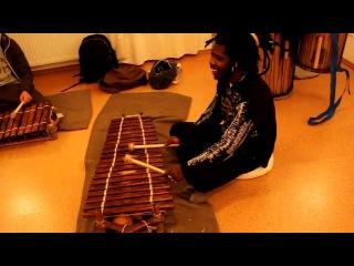 Balafon Workshop Bonn Djeli Modou Kouyaté 02.12
