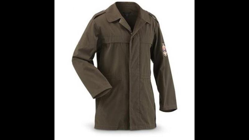 Куртка M98. Непромокаемая армейская. Словакия 1998 год.