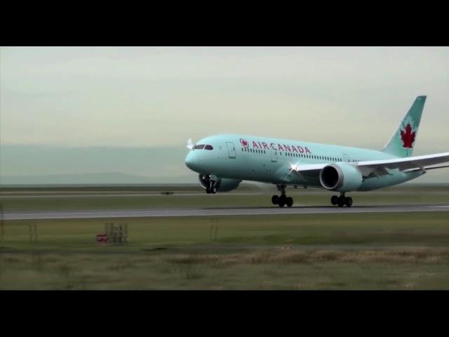 Как это работает- реверс двигателя на примере Boeing 787 и ATR