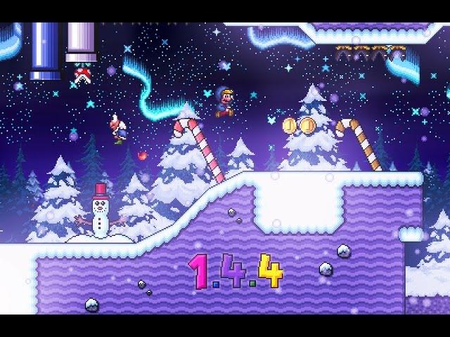 Custom Level - Chilly Xmas Night [SMBX 1.4.4 ] スーパーマリオブラザーズX 1.4.4
