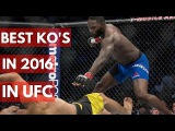 Best Knockouts in 2016 in UFC - TOP 5