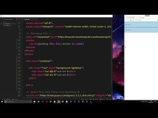 Bootstrap 4 Tutorial #5 - Grid Basics