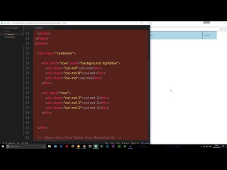 Bootstrap 4 Tutorial #6 - Flex Grid