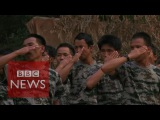 Myanmar Inside a rebel camp - BBC News