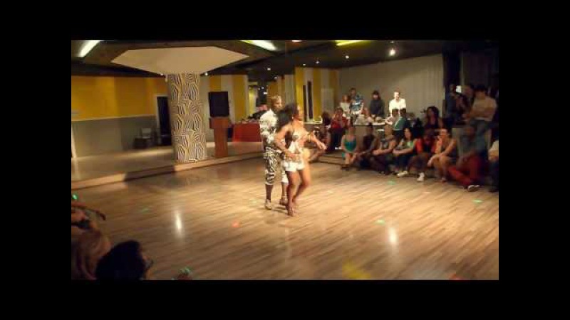 Mastre Petchu Vanessa show dance@BALUMUKA Prague Kizomba festival Nov,2012.