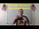 Learn English: Daily Easy English Expression 0684: one step forward, two steps back