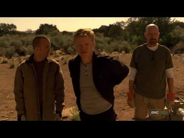 Breaking Bad - Todd shoots a young kid [HD/720p]