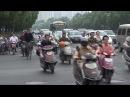 Движение электроскутеров в Китае