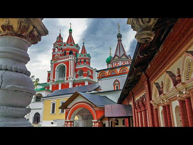 Прогулка в Саввино Сторожевский монастырь Звенигород зимой