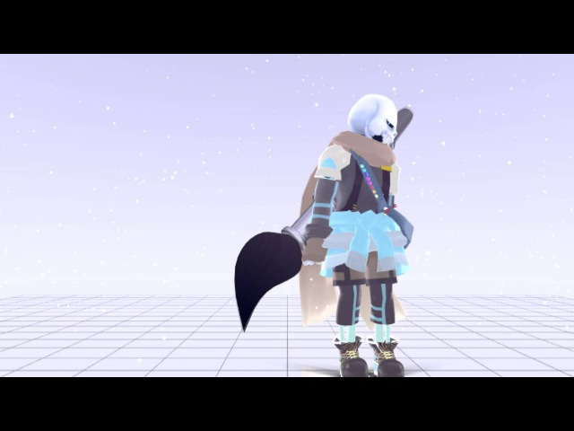 【MMDUNDERTALE】 Work Bitch [Ink sans]