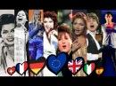 Eurovision All Winners 1956 - 2016