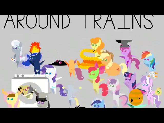 RUS Animation ♫ My Little Pony Dumb Ways to Die ♫