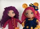 Como tejer manos, brazos y manga vestido muñeca Valentina amigurumi By Petus (3/7) TERCERA PARTE .