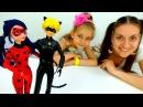 Распаковка 🐞 ЛедиБаг и СуперКот 😼 Куклу Барби околдовал Бражник Видео игры д ...
