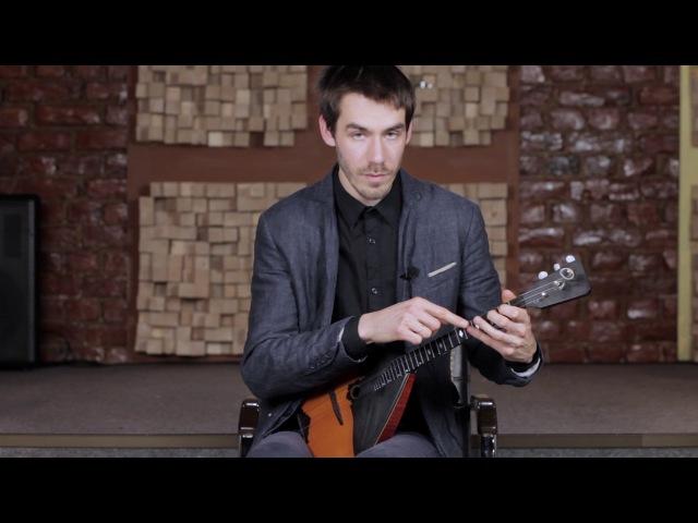 Выпуск 36 Как играть русскую народную песню Во саду ли в огороде на балалайке