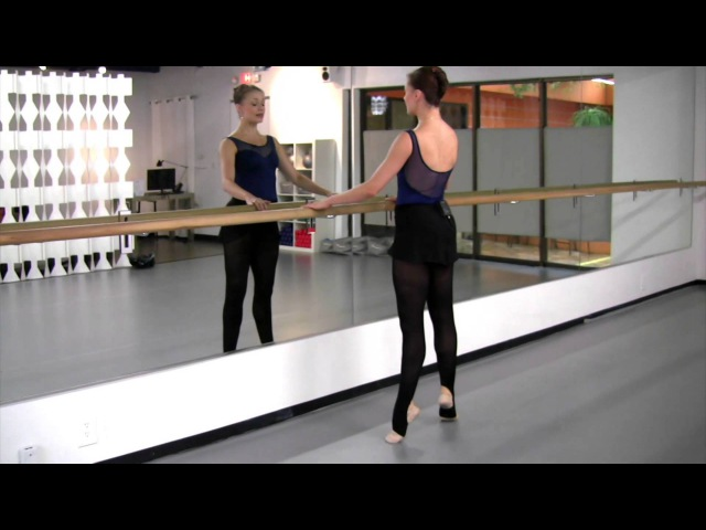 How To Do a Relevé, with Prima Ballerina, Jennifer Carlynn Kronenberg