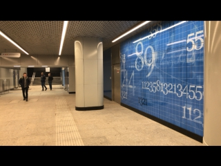 Открытие станции метро