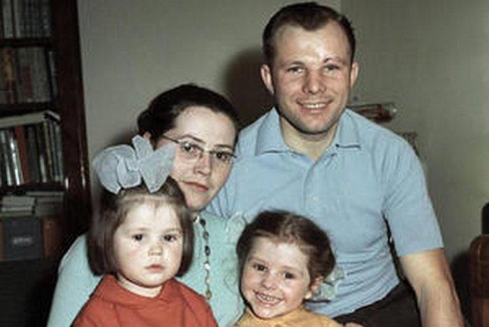 Семья первого космонавта