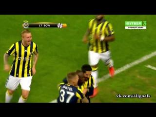 Фенербахче 1-0 Ман Юнайтед / гол Соу