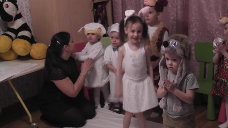 Новогодний утренник 2015-16, организованный Филипповой Викторией Петровной (часть 2)