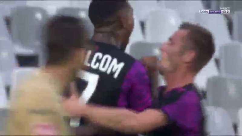 Второй гол Санкаре (27/07/2017)
