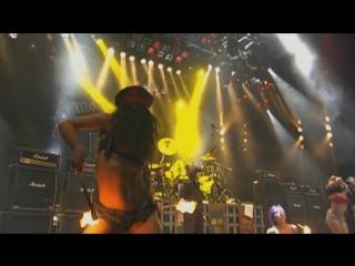 Motorhead (feat nina c alice) 'killed by death' live wacken 2009 full hd