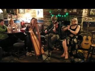 Trip to Dingle. Performance with Muireann nic Amhlaoibh