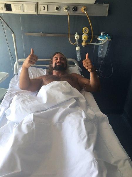 Post image of Брэм получил серьёзную травму